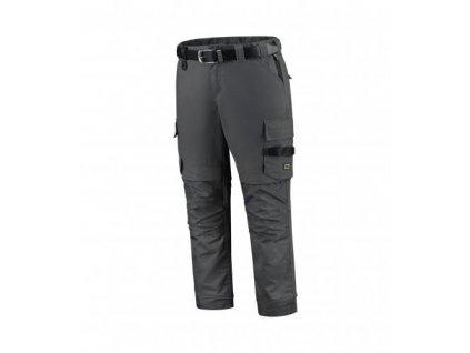Work Pants Twill Cordura Stretch pracovní kalhoty unisex tmavě šedá