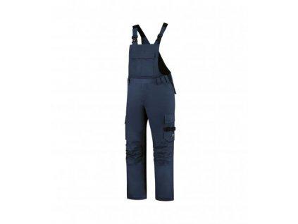 Bib & Brace Twill Cordura pracovní kalhoty s laclem unisex námořní modrá
