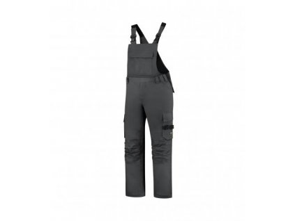 Bib & Brace Twill Cordura pracovní kalhoty s laclem unisex tmavě šedá