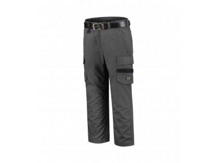 Work Pants Twill Women pracovní kalhoty dámské tmavě šedá