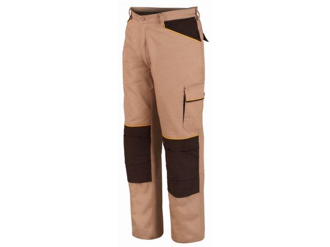 SHOT pracovní kalhoty montérkové béžová (Velikost/varianta 3XL)