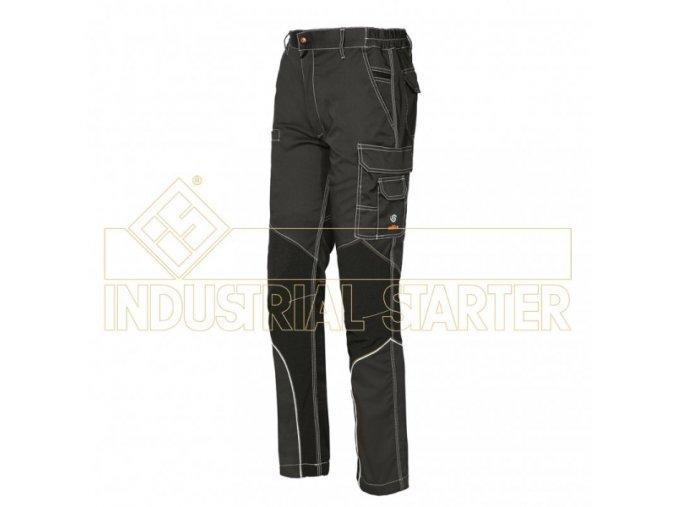 STRETCH EXTREME montérkové kalhoty antracitové (Velikost/varianta 3XL)