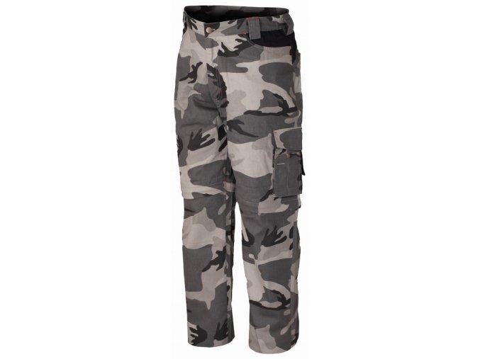 8029N kapsáčové kalhoty camouflage šedé (Velikost/varianta 3XL)