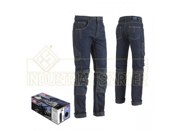 MINER multi-funkční džíny modré (Velikost/varianta 3XL)