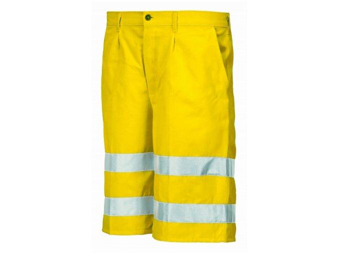 8434 kraťasy výstražné žluté (Velikost/varianta 2XL)