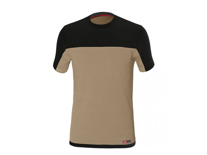 STRETCH tričko béžová (Velikost/varianta 3XL)