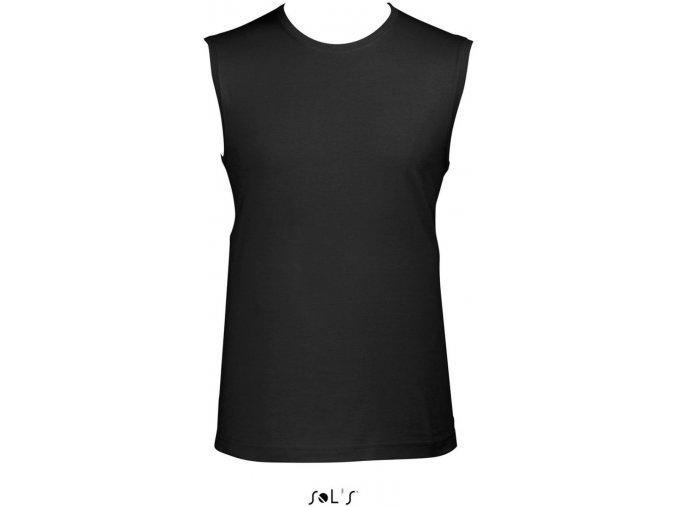 JAZZY tričko bez rukávů černé (Velikost/varianta 2XL)