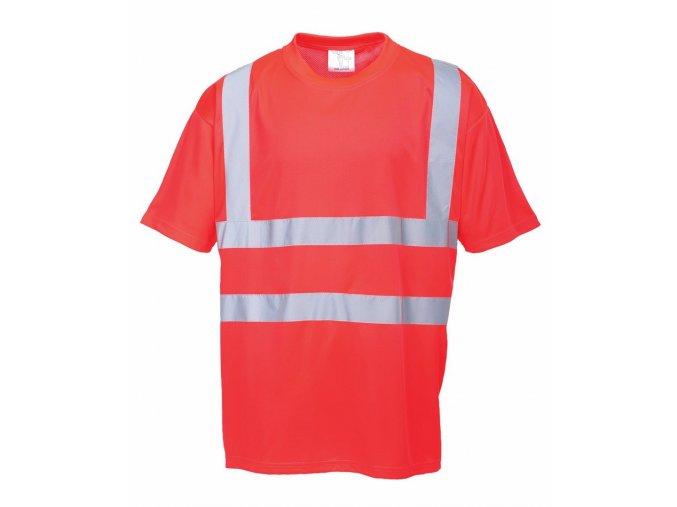S478 reflexní tričko červené (Velikost/varianta 4XL)
