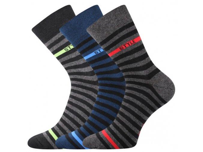 VOXX Kuba II ponožky černé (Velikost/varianta 46)