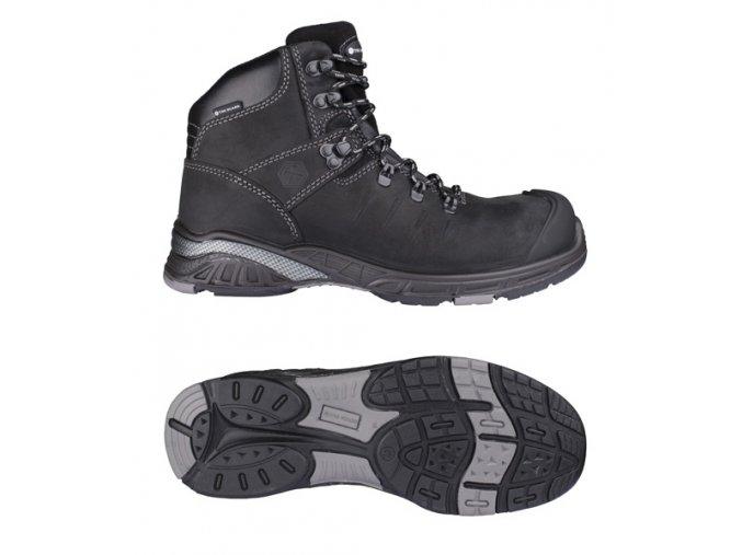 NITRO S3 pracovní kotníková obuv černá (Velikost/varianta 48)