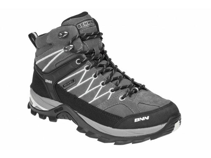 BENNON PICARDO HIGH kotníková obuv šedá (Velikost/varianta 47)
