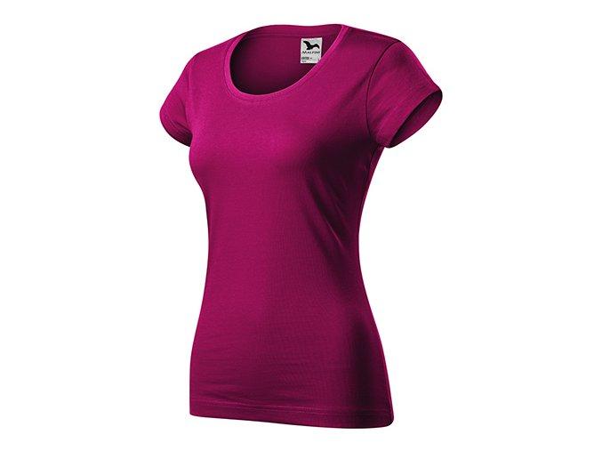 Viper tričko dámské fuchsia red