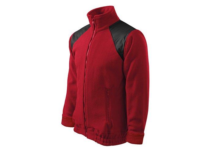Jacket Hi-Q fleece unisex marlboro červená