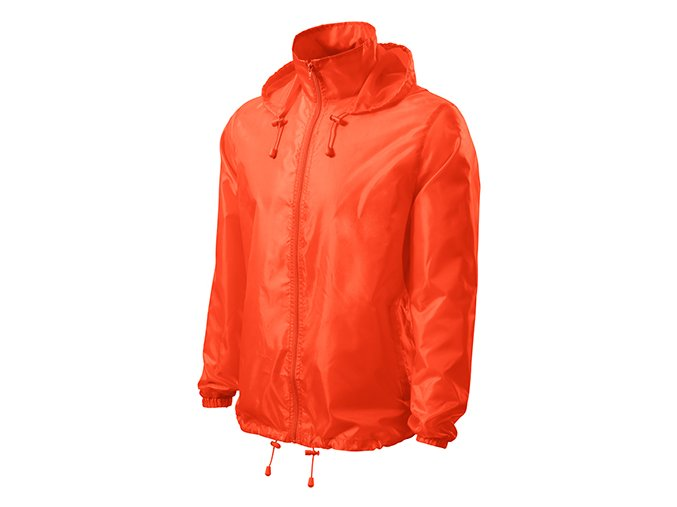Windy větrovka unisex neon orange