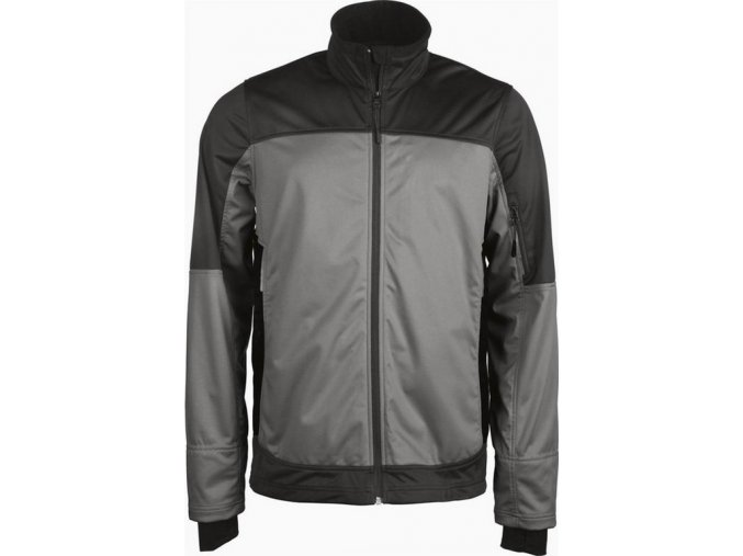 K415 pánská softshellová bunda tm.šedá (Velikost/varianta 4XL)