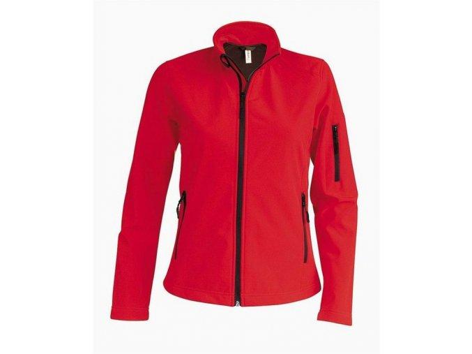 K401 pánská softshellová bunda červená (Velikost/varianta 4XL)