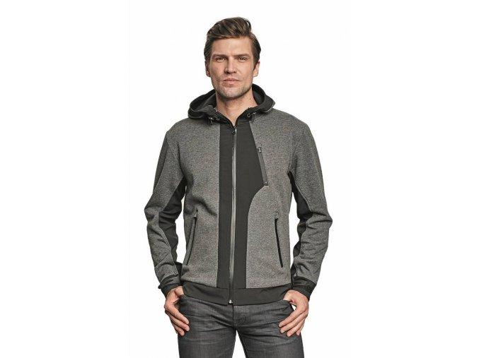 STRIB softshellová bunda šedá (Velikost/varianta 3XL)