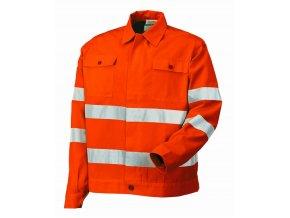8445 AV výstražná bundokošile oranžová (Velikost/varianta 3XL)