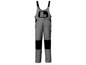 STRETCH pracovní laclové kalhoty montérkové šedé (Velikost/varianta 3XL)