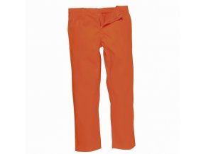 BIZWELD nehořlavé pracovní kalhoty do pasu oranžové (Velikost/varianta 2XL)