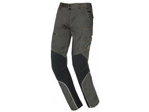 STRETCH EXTREME pracovní kalhoty montérkové šedo černá (Velikost/varianta 3XL)