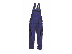 MAX LADY montérkové kalhoty s laclem modro-černé (Velikost/varianta 50)