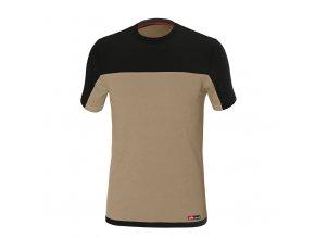 STRETCH tričko béžová