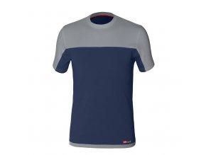 STRETCH tričko modrá