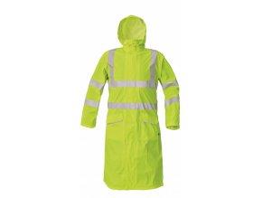 SIRET HV nepromokavý reflexní plášť do deště žlutý