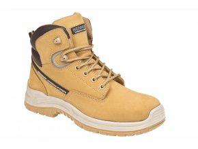BENNON RANGER O2 High pracovní kotníková obuv béžová (Velikost/varianta 48)