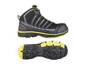 JUMPER S3 esd pracovní bezpečnostní obuv černá (Velikost/varianta 48)