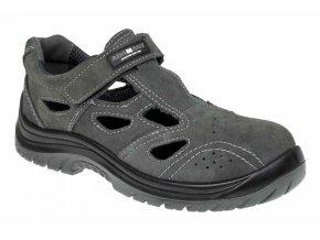 ADAMANT TAYLOR O1 pracovní sandál šedý (Velikost/varianta 50)