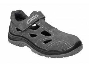 ADAMANT TAYLOR S1P pracovní sandál šedý