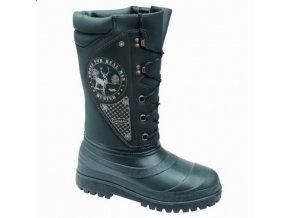 HUNTER SPECIAL zimní myslivecká obuv zelená (Velikost/varianta 48)