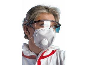 REFIL 611 respirátor skládací s ventilem FFP1 box (Velikost/varianta UNI)