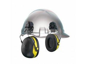 3M PELTOR X2P3 mušlové chrániče sluchu na přilbu