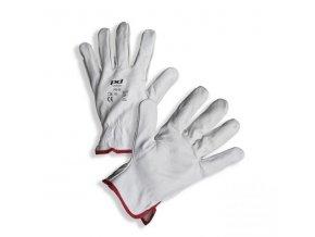 PD-02 rukavice z bílé lícové hověziny (Velikost/varianta 11)