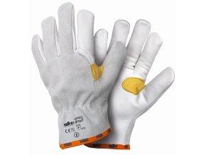 07131T BADOGLIO TOP celokožené rukavice bílé (Velikost/varianta 11)