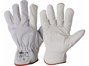 07129 BADOGLIO EKO celokožené rukavice bílé (Velikost/varianta 11)