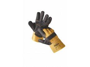 ORIOLE rukavice kombinované žluté (Velikost/varianta 10)