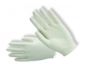 PD-LX-PWF latexové nepudrované rukavice (Velikost/varianta 04)