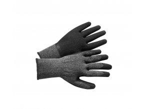 ZEELANDIA rukavice PE/bavlna máčené v latexu (Velikost/varianta 09)