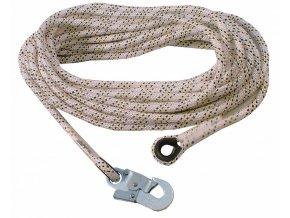 Bezpečnostní lano AC 100 s karabinou AZ002 (40 m) (Velikost/varianta UNI)