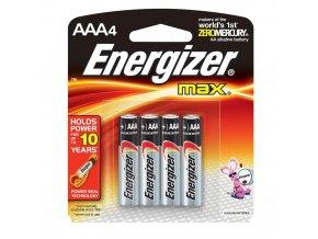ENERGIZER Max baterie mikrotužková alkalická AAA 4+2 zdarma (Velikost/varianta UNI)