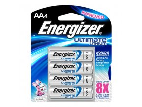 ENERGIZER Lithium Ultimate baterie tužková  AA 4 (Velikost/varianta UNI)