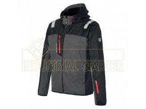 SALSONG softshellová bunda černá (Velikost/varianta 3XL)