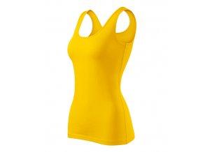 Triumph tílko dámské žlutá