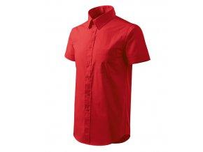 Chic košile pánská červená