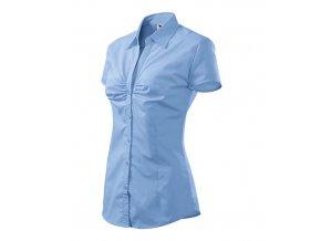 Chic košile dámská nebesky modrá