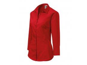 Style košile dámská červená